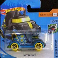 Hot Wheels TREASURE HUNT caja M 2020 Tricera - truck Street Beast 10/10 212/250
