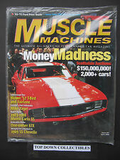 Hemmings Muscle Machines  April  2006 Issue #31 Scottsdale Auctions  Unopened