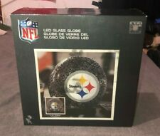 NEW Pittsburgh Steelers LED Glass Globe Accent Lamp