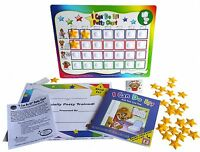 New Updated Potty Training chart system with book, reward, incentive, toilet