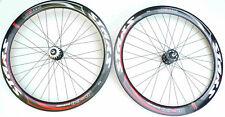 "StarS Fixed Gear Track Road BikeBicycle 26"" 50mm Wheels Sealed Bearing Black"