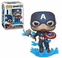 MINT Avengers: Endgame Captain America Broken Shield Funko Pop! Figure