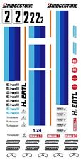 #2 Bmw Racing Decal 1/32nd Scale Slot Car Decals