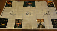Huge Poster! Movies, Current Events, Etc 1997 -Good Will Hunting & Titanic, More