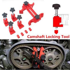 Universal Dual Cam Clamp Camshaft Timing Sprocket Gear Locking Tool Kit 5Pcs/Set