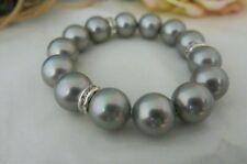 Markenlose Armbänder mit Perlen aus Mischmetall echten