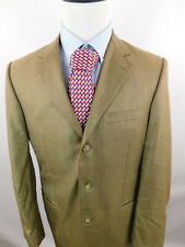 40R Andrew Fezza Men's 3 Button Houndstooth Blazer Sport Coat Jacket