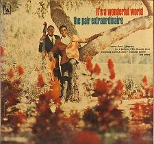 "THE PAIR EXTRAORDINAIRE ""IT'S A WONDERFUL WORLD"" SOUL VOCAL JAZZ LP LIBERTY 3504"