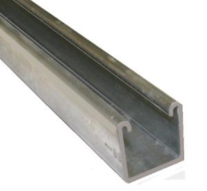 41mm Plain Channel - 6 Metre x 2 Quantity