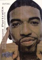 1999-00 SKYBOX METAL PLATINUM PORTRAITS CARD #4PP RICHARD HAMILTON WIZARDS