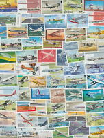50 different Thematic Philately Airplanes Aviation stamps collection set