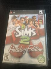 Pc Cd The Sims 2 Holiday Edition Bonus Happy Holiday Pack Included New Sealed