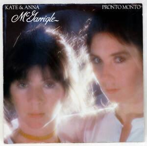 KATE AND ANNA McGARRIGLE Pronto Monto Vinyl LP Warner WB 56 561 Germany 1978 EX+