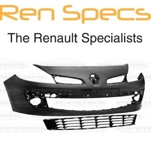 """RENAULT CLIO III - FRONT BUMPER - Includes Lower Grille - For 15"""" Wheeled Clio 3"""
