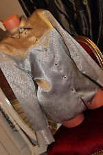 FOSBY DESIGN shiny faux satin  top blouse size 20
