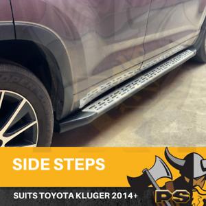 Side Steps Running Boards for Toyota Kluger 2014 2015 2016 2017 2018 2019+ (S6)