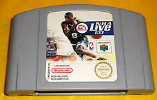 NBA LIVE 99 Nintendo 64 N64 Versione Europea PAL ○○○○○ SOLO CARTUCCIA