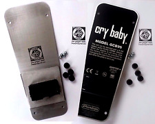 GREAT crybaby wah BOTTOM PLATE,feet,battery box-FITS gcb95 Dunlop&many others.