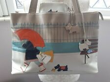 Radley Leather Picture Large Grab Bag Retail Therapy & Coin Purse See Descriptio