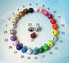 Metall-Glöckchen in 25  Farben inkl. BRANDNEU ! MINT und HELLROSA
