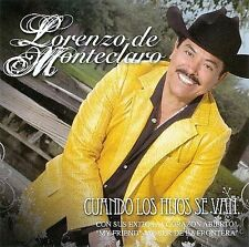 Cuando Los Hijos Se Van by Lorenzo de Monteclaro (CD ALL CD'S ARE BRAND NEW