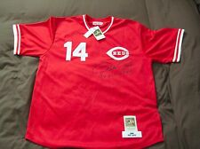 Pete Rose 17X All-Star Signed AUTOGRAPH Mitchell & Ness Jersey PSA DNA