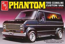 "AMT 1/25 Ford Econoline Custom Van ""Phantom"" Plastic Model Kit 2 in 1 Kit AMT767"
