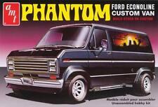 """AMT 1/25 Ford Econoline Custom Van """"Phantom"""" Plastic Model Kit 2 in 1 Kit AMT767"""
