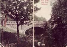 BI-FOLD CARD STONE BRIDGE LAKE PARK MILWAUKEE, WI 1907