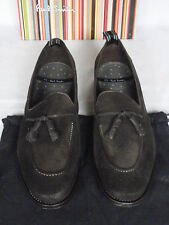 "Nouvelle Paul Smith ""Graham"" brown dip dye laver en Daim Gland mocassin chaussures UK 10 10.5"