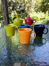 Tapered/ Squat coffee MUG Tangerine orange NEW FIESTAWARE FIESTA WARE 15OZ