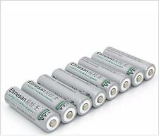8PCS ETINESAN 3.2V 600mAh LiFePO4  14500 AA lithium  Rechargeable  toy Battery
