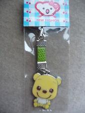 TEDDY BEAR MOBILE PHONE/PURSE CHARM BRAND NEW