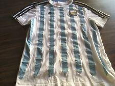 Adidas Argentina Lionel Messi Soccer Futbol Jersey Youth Large