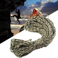 100FT 550 Paracord Parachute Cord Rope Lanyard Mil Spec Type III  Strand Core