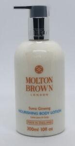 Molton Brown Suma Ginseng Nourishing Hand & Body Lotion 300ml - NEW