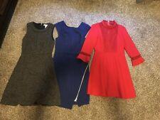 Lot Of 3 Causal Dresses Zara White House Black Market Express XS/2/00 Women