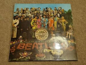 The Beatles 1st UK Stereo Pressing Sgt Pepper's Lonely Hearts LP Rare VG+ / VG+
