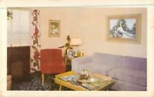 c1950 Hotel Imig Manor, Interior View, San Diego, California Postcard