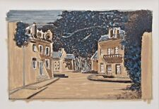 """GEORGES BRAQUE ltd ed vintage mounted lithograph, Mourlot, 1963, 12 x 10"""" GB107"""