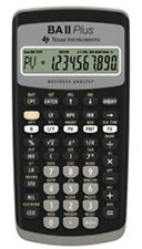 NEW Texas Instruments TI-BAII PLUS Financial Calculator CFA Approved