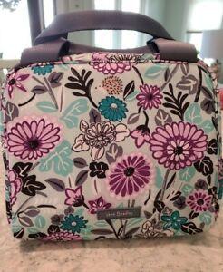 Vera Bradley Lighten Up Lunch Cooler PENELOPE'S GARDEN Insulated Tote Bag NWT