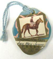 1949 WASHINGTON PARK Press SEASON Ticket Book horse racing CHICAGO