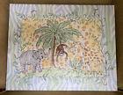Jungle Animal Giclee Artwork for Infant, Toddler, Children