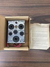 Vintage Zibeth Fil Check Filament Checker Radio Tube Tester Pin Straightener