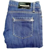 Camilla and Marc Women's Size 28 Medium Blue Wash Zip Pocket Skinny Jeans