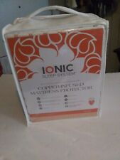 Ionic Sleep System King Size Copper Infused Matress Protector