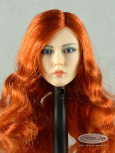 1/6 Scale Phicen, TBLeague - Sexy Female Red Hair Head Sculpt - S42
