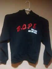 RARE Marilyn Manson D.O.P.E. DOPE Your Kids Are On Drugs Hoodie Sweatshirt XL