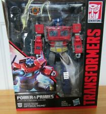 Transformers Generations Power of the Primes Leader Class Optimus Prime NISB
